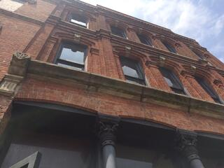 Piping Industry members are working to renovate this building in Toledo's  Hensville entertainment district.