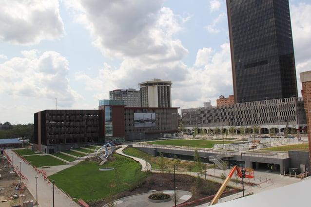 ProMedica Downtown Toledo Headquarters - Promenade Park